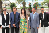 Siu Fai, Johnny Hallyday, Michelle Ye, Jonny To, Simon Yam