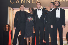 Buddy Duress, Taliah Webster, Robert Pattinson, Benny Safdie, Joshua Safdie