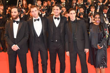 Joshua Safdie, Robert Pattinson, Benny Safdie, Buddy Duress, Taliah Webster