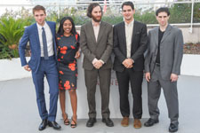 Robert Pattinson, Taliah Webster, Josh Safdie, Derny Safdie, Buddy Duress